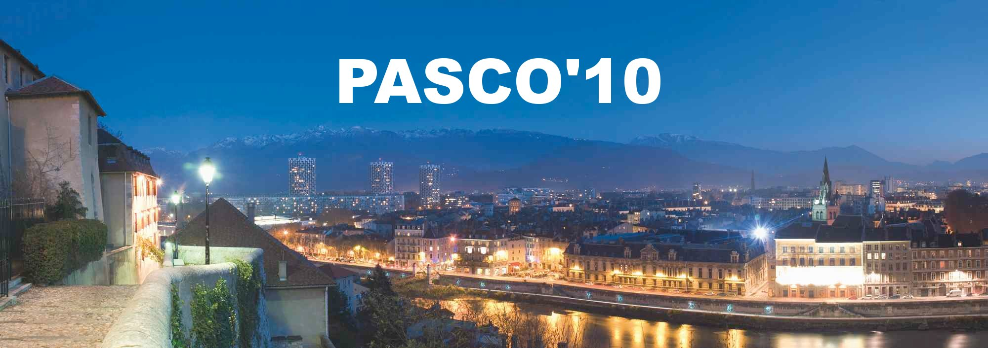 Grenoble PASCO'2010